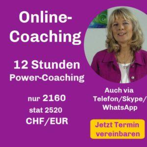 12 Stunden Coaching-Paket