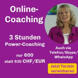 3 Stunden Coaching-Paket