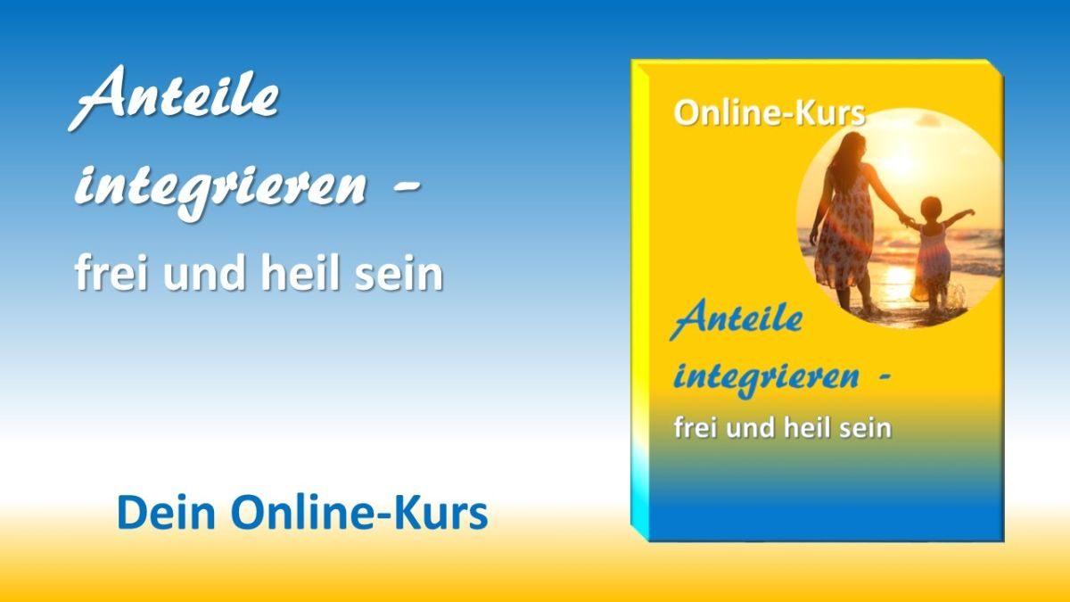 Online-Kurs Anteile integrieren