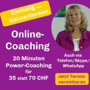 20 Minuten Coaching